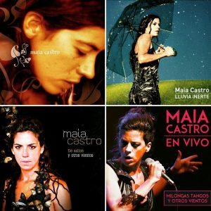 Maia Castro y su discografía disponible