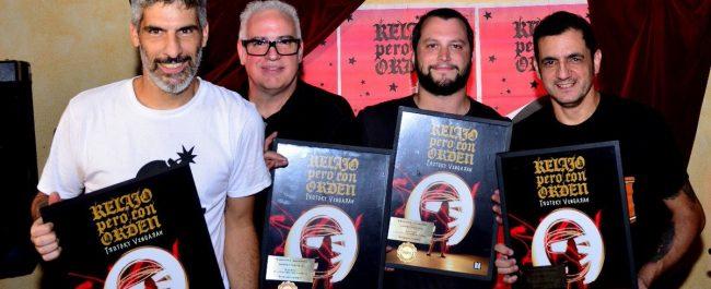 Disco de Oro para Trotsky Vengarán